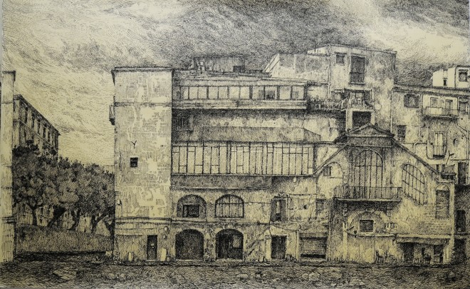 Palerme, via Cala, Sicile