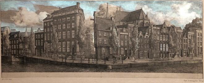 Herengracht (épreuve rehaussée)