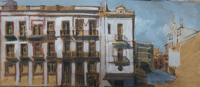 Séville, pages de carnets