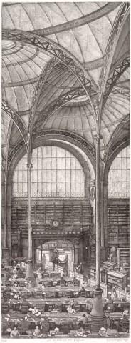 La Salle Labrouste, côté Nord, fragment
