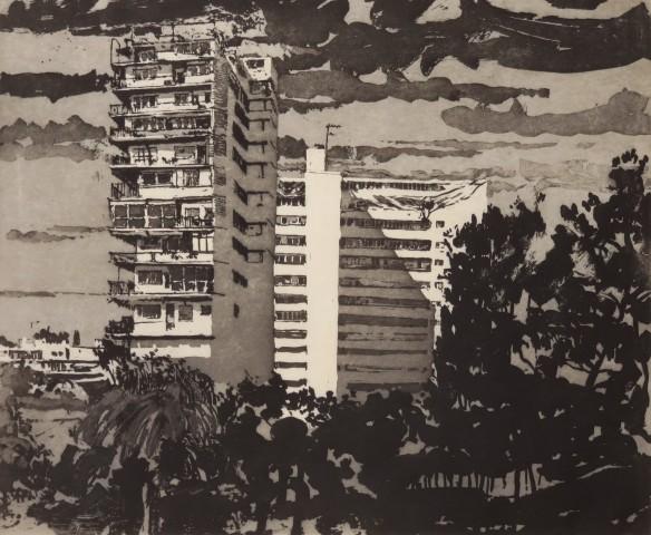 Palma de Mallorca, calle de Juan Miró