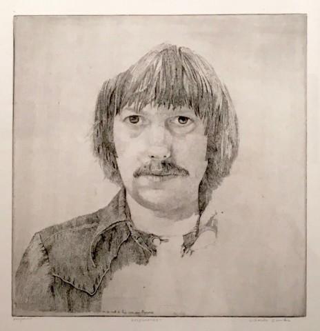 Charles Donker, Zelfportret (Autoportrait), 1976
