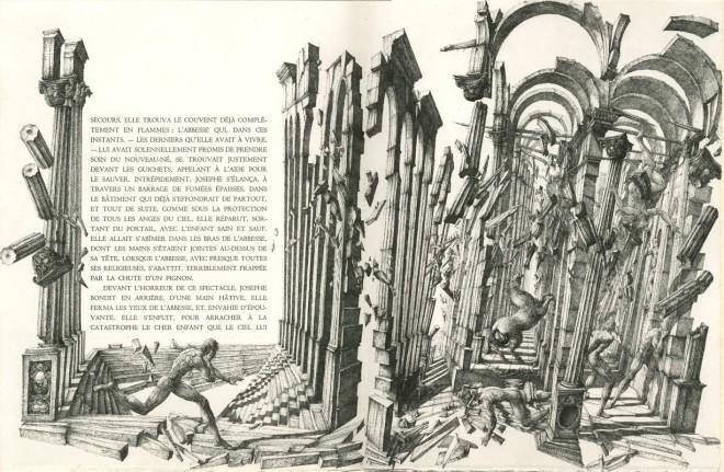 Érik Desmazières, Le Tremblement de terre du Chili, 1987