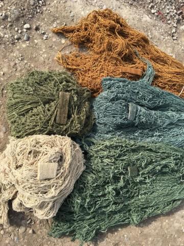 Vat dyed Afghan hand spun wool