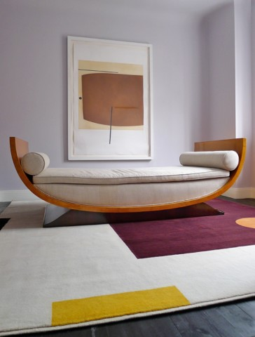 Suprematist rug