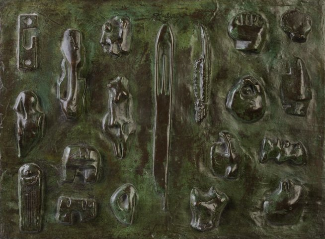 Wall Relief : Maquette no.6 LH370