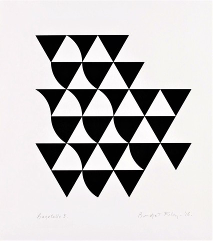 Bridget Riley, Bagatelle 3, 2015