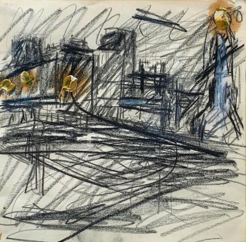 Frank Auerbach, Mornington Crescent, 1973-4