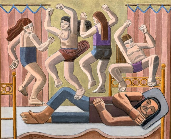 William Roberts, Dream of Dancing Women, 1978