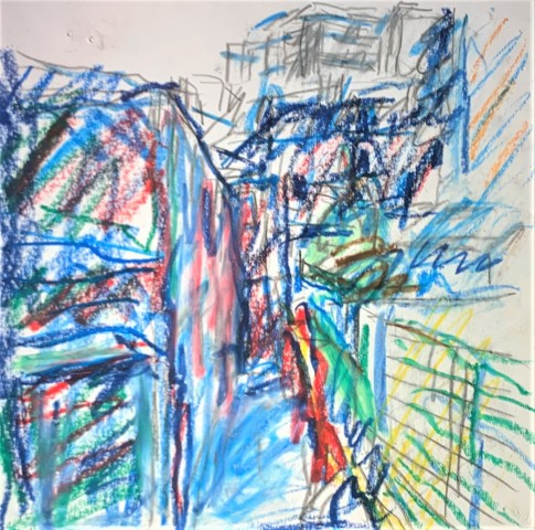Frank Auerbach, From The Studios, 2018