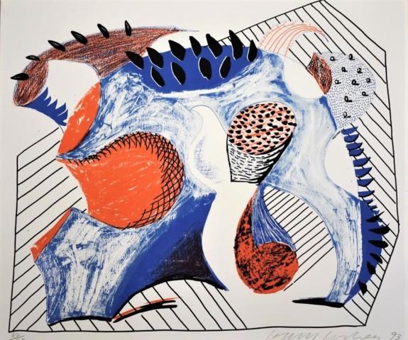 David Hockney, Untitled for Joel Wachs, 1993