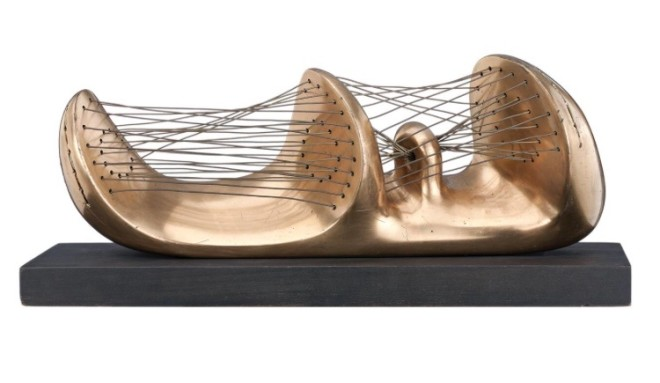 Stringed Reclining Figure