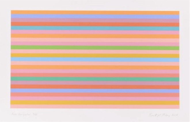Bridget Riley, Rose Horizontal, 2016
