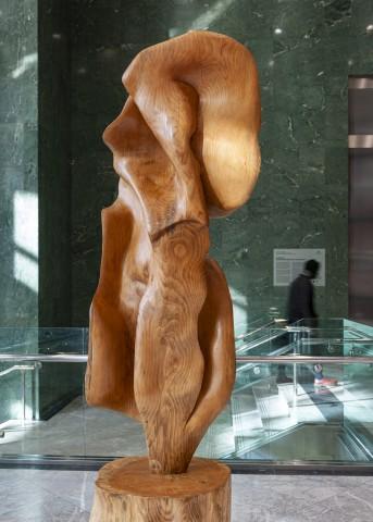 Helaine Blumenfeld, Aurora, 2019, wood.