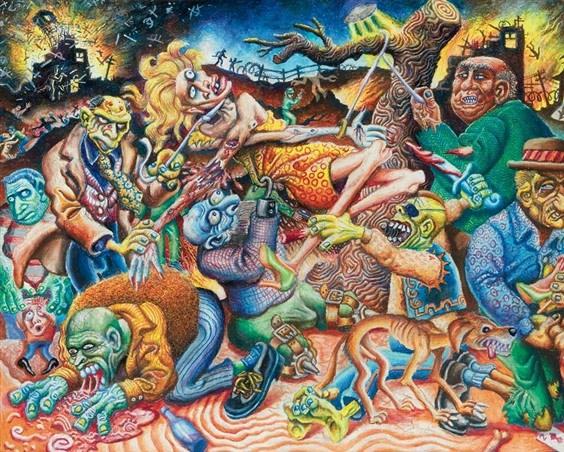 Joe Coleman, Apocalyptic Scene
