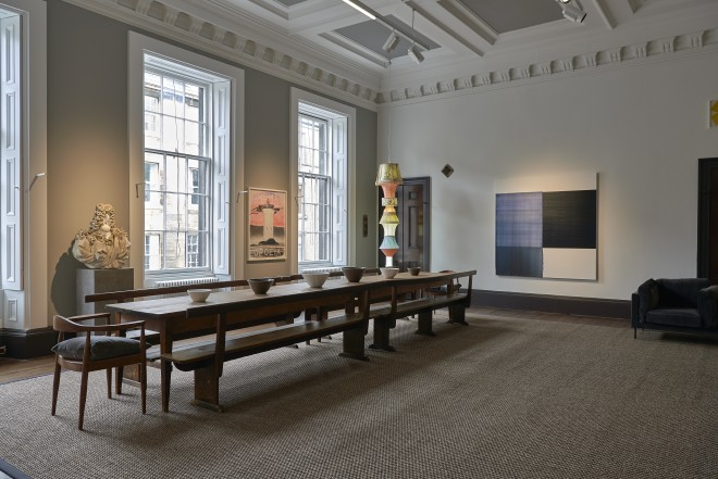 Installation view of TWENTY  Ingleby Gallery, Edinburgh, 11 May - 14 July, 2018