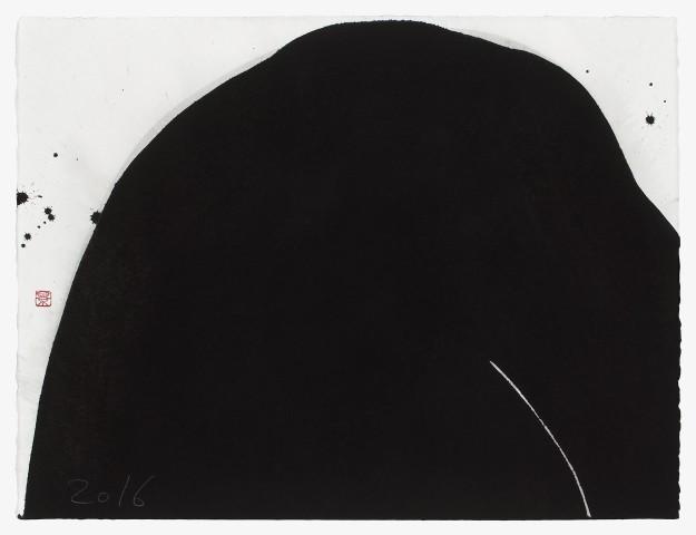 Kei Tanimoto, #021323  Schwarzer Berg, 2016