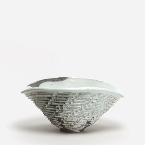 Shozo Michikawa, #021159  Skulpturale Form - Schale, 2014