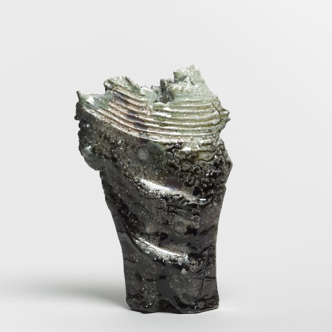 Kei Tanimoto, #021301  Vase (Hanaire), Iga-Typ, 2016