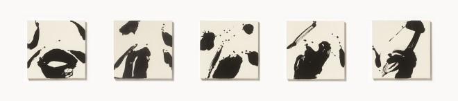 Hiroko Nakajima, #010690 - #010694  Tal der Libelle 1 - 5, 2001