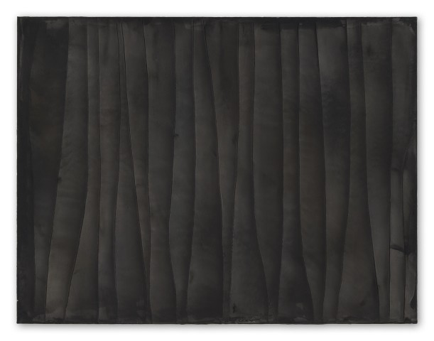 Hideaki Yamanobe, #021818  Black Screen, Scratch 2018-5, 2018