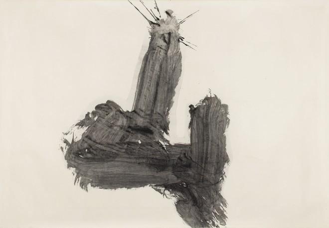 YU-ICHI (Inoue Yûichi), #021142  Yama 山 (Berg), 1966