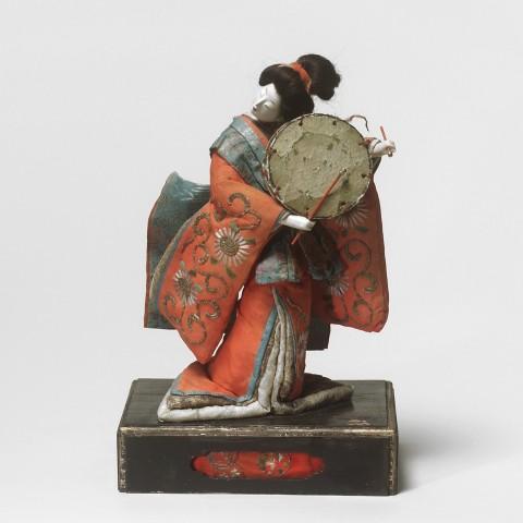 Ningyô, #017363  Hina-ningyô, Edo-Zeit