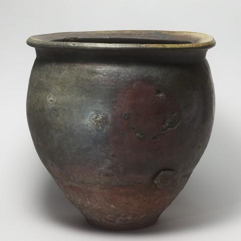 Keramik, #000234 Mizugame - Vorratstopf für Wasser, Tokoname, Momoyama- / Edo-Zeit, 16./17. Jh.