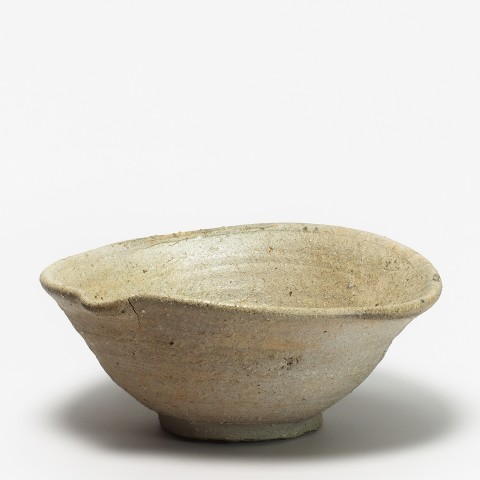 Keramik, #000583 Ô-hirabachi - große flache Schale, Tokoname, Heian-Zeit (794-1185)