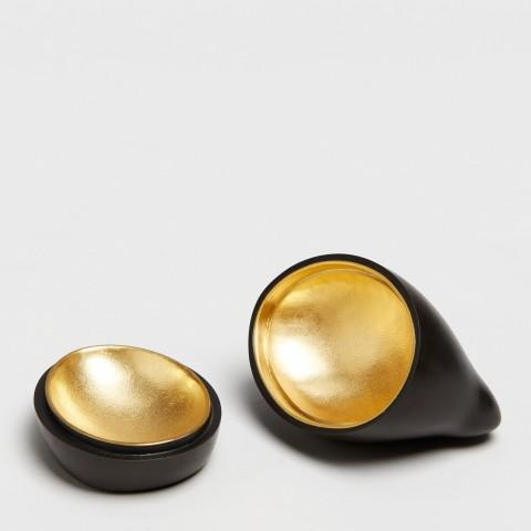 Andreas Caderas. Hasen, #021804  Hase - Dose mit Gold, 3/5, 2016