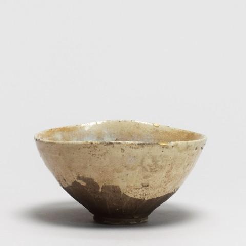 Keramik, #017113 Chawan - Teeschale, Seto-Region, Edo-Zeit (1615-1868) 2te Hälfte