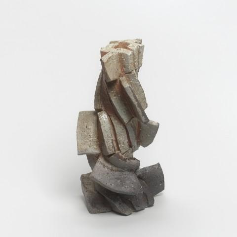 Shozo Michikawa, #021151  Skulpturale Form - Vase, 2016