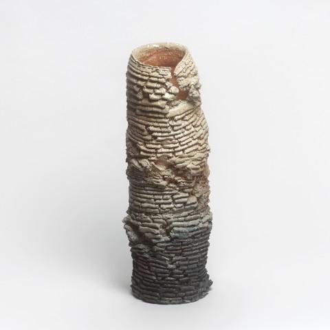 Shozo Michikawa, #021146  Skulpturale Form - Vase, 2016
