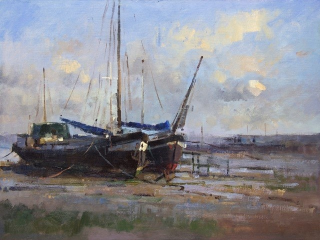 Barge Study at Pin Mill