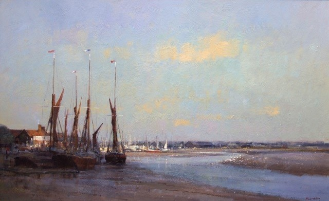 Low Tide at Maldon  SOLD