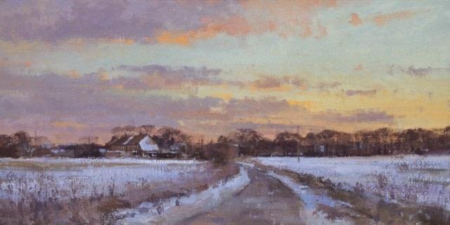 Snow at Millers Lane, Kent