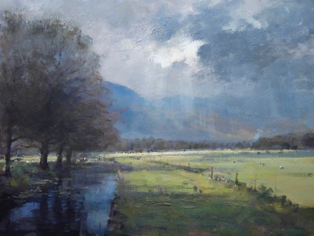 Sunshine and Showers, Lake District  SOLD