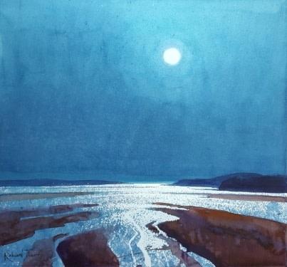 January Moon, Teign Estuary  Richard Thorn