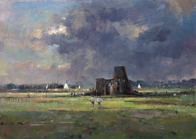 Stormy Light, St Benets Abbey, Norfolk  Matthew Alexander
