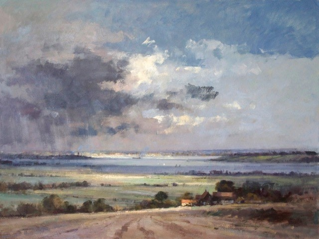 View across the Sheppey to the Thames  Matthew Alexander