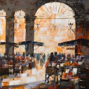Market, Umbria, Italy  SOLD