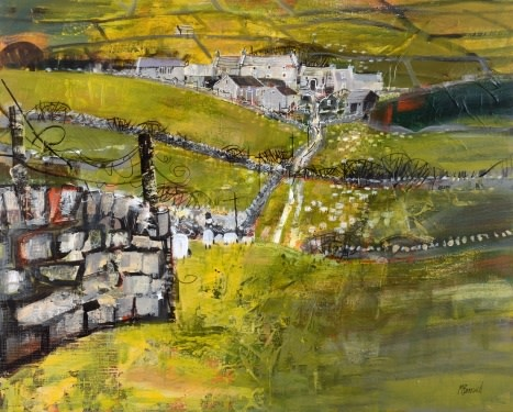 Hill farm, Wharfedale  SOLD