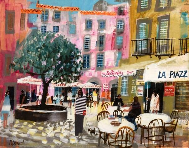 Cafe life, South of France  ex catalogue