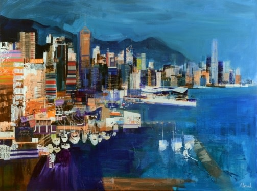 City skyline, Hong Kong