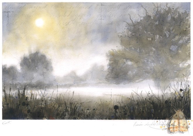 Gary Cook  Lifting Mist  SOLD