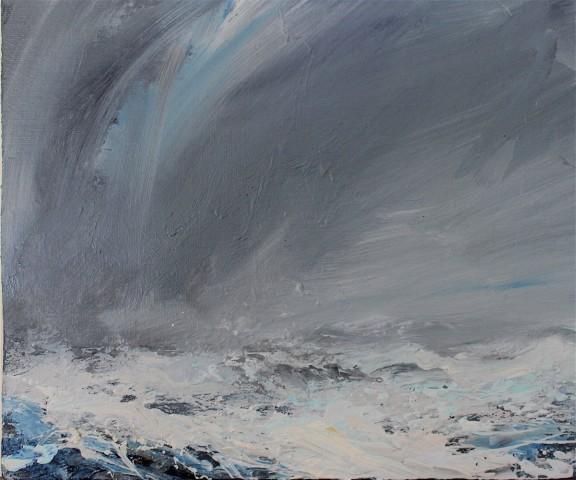 Janette Kerr  March Wildness, Voe of Littlure, Shetland  SOLD