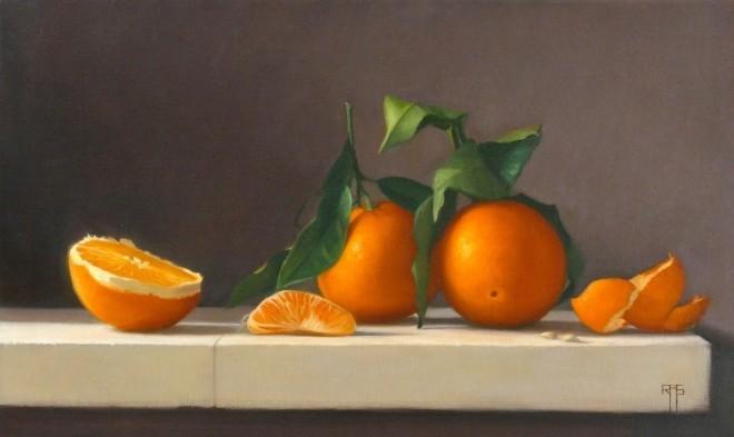 Raquel Alvarez Sardina  Oranges  SOLD