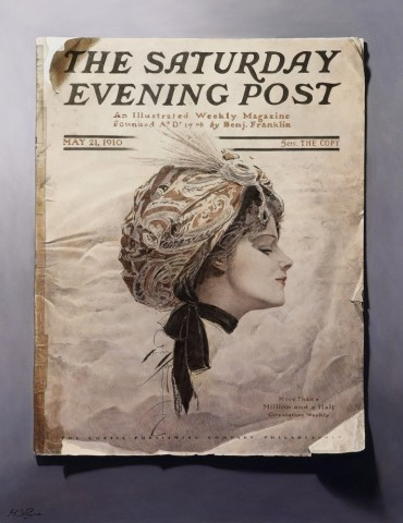 Mark S Payne  The Saturday Evening Post  £4,250