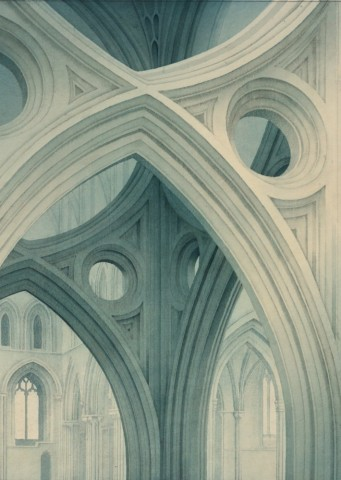 Scissor Arches, Wells  SOLD