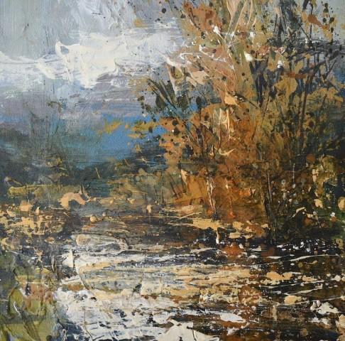 Autumn along the Wye, Study No.1  Chris Prout